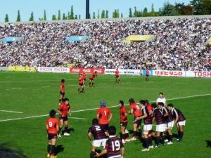 大学ラグビー 帝京×早稲田